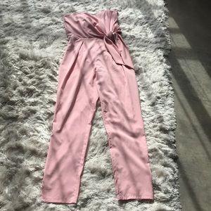 Soft pink jumpsuit